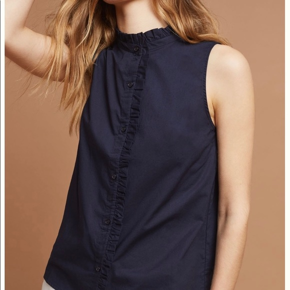 Anthropologie Tops - Ro & De Rian Ruffled Blouse from Anthropologie